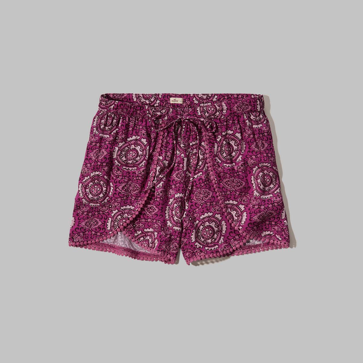 Edged Petal Shorts