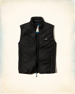 Quilted Softshell Vest