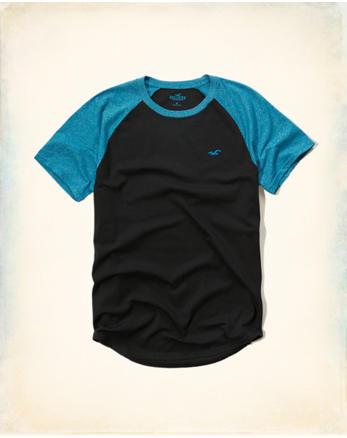 hol Colorblock Raglan T-Shirt