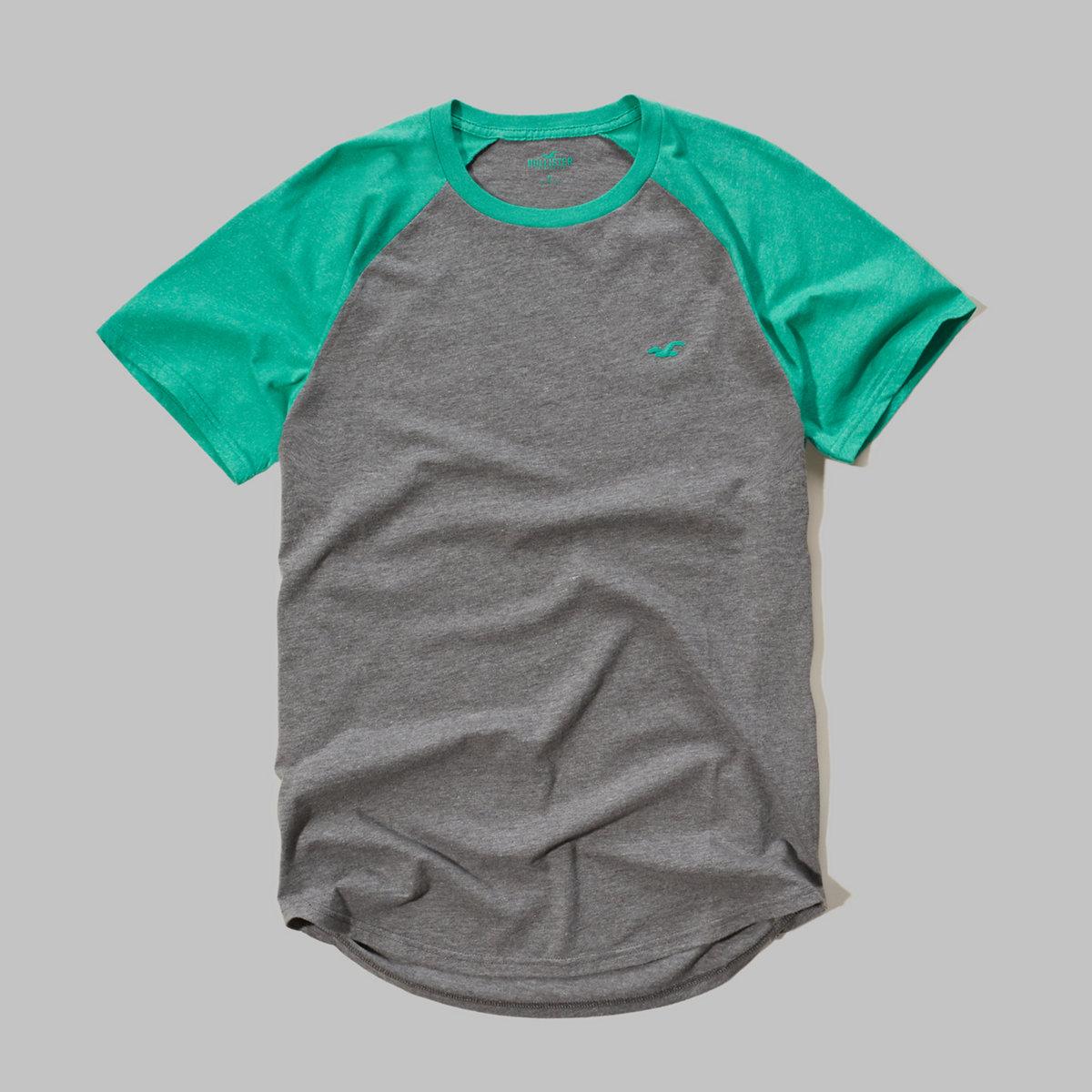 Must-Have Colorblock Raglan T-Shirt