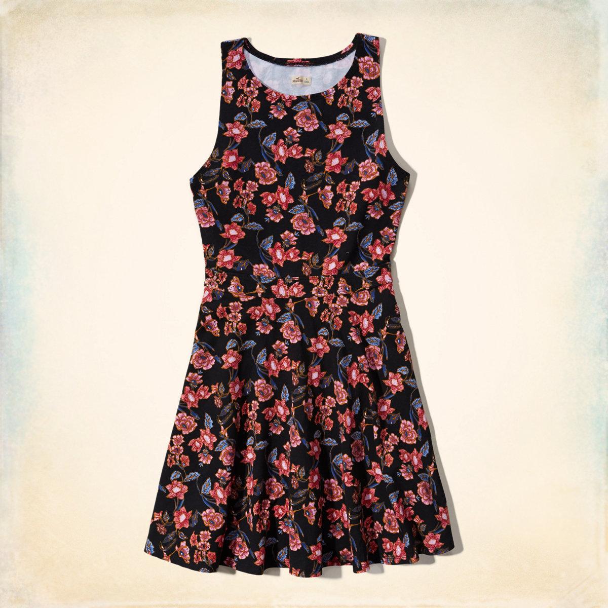 Knit Skater Dress