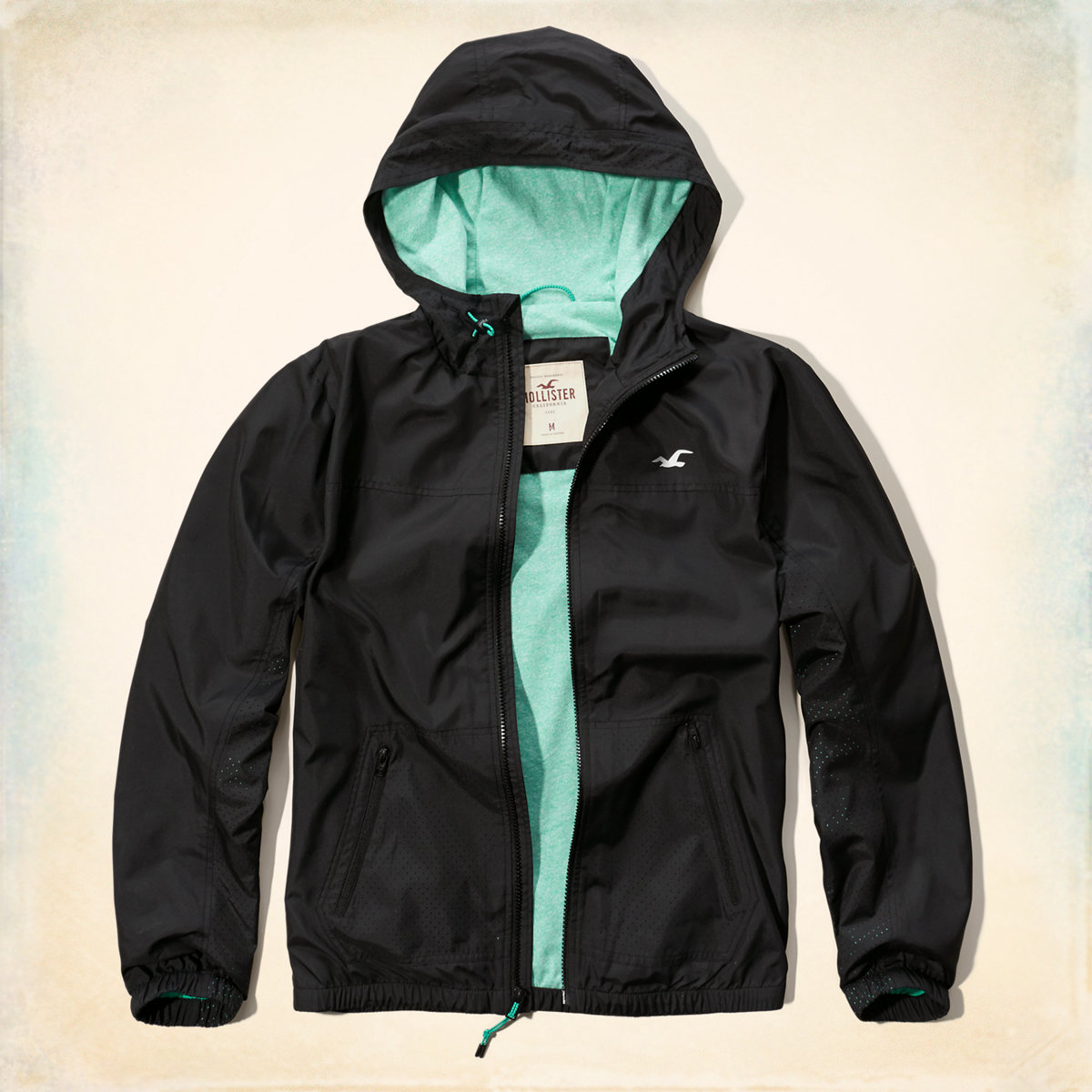 Lightweight Lined Windbreaker