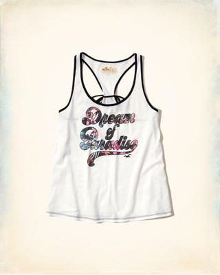Graphic Racerback Tank