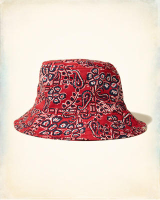 Patterned Bucket Hat