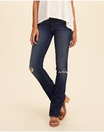 hol Stretch Low-Rise Boot Jeans