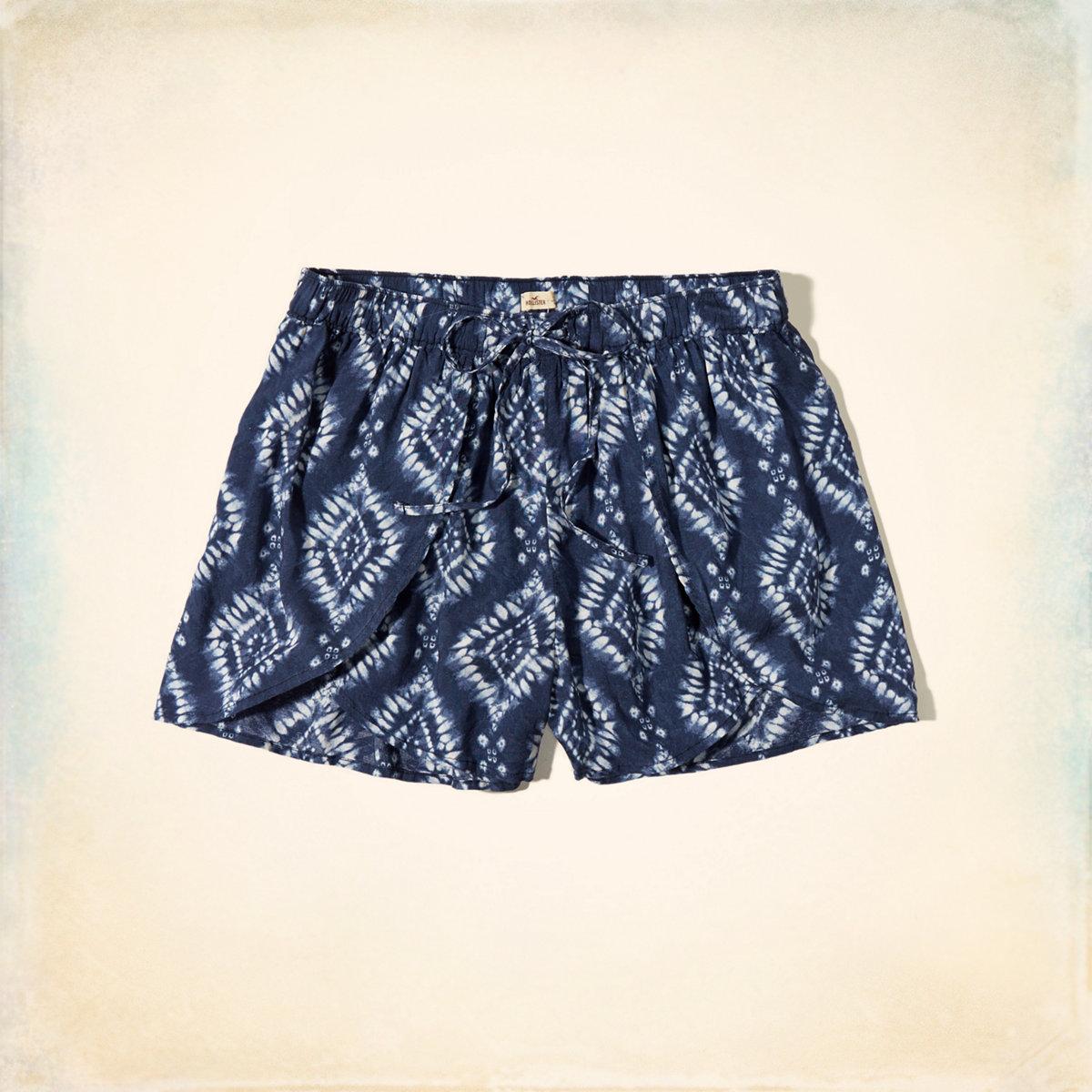 Drapey Petal Shorts