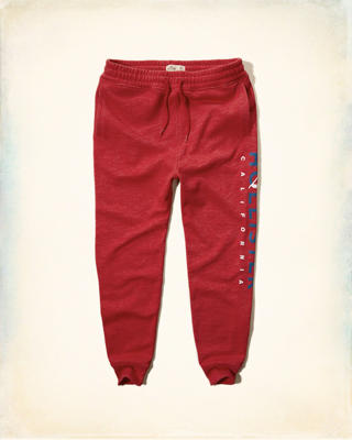 Hollister Logo Graphic Jogger Pants