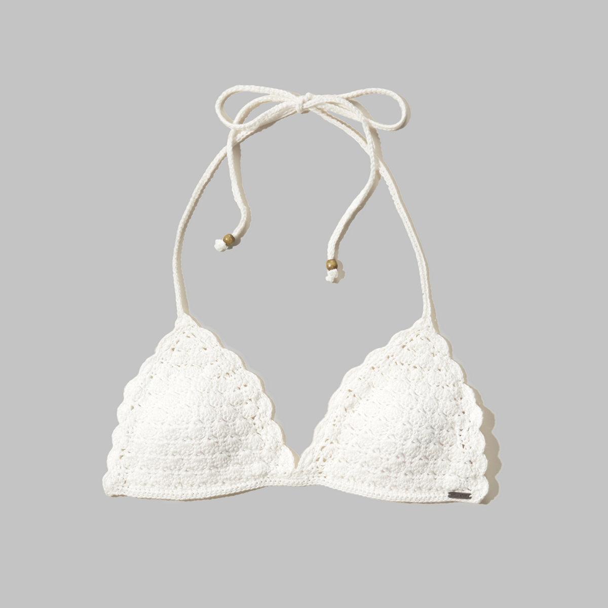 Crochet Triangle Swim Top