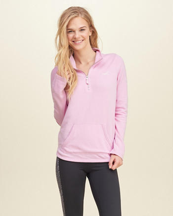 Half-Zip Graphic Sweatshirt