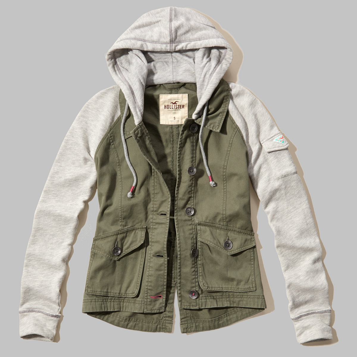Twofer Twill Jacket