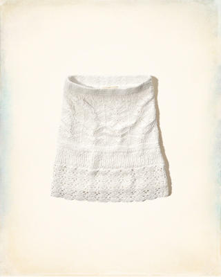 Crochet Mini Skirt