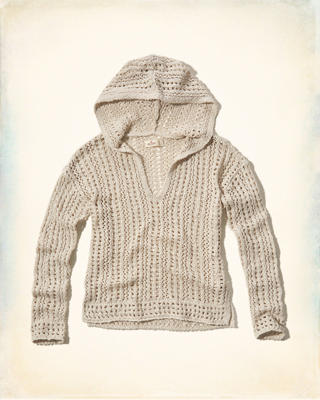 Open-Stitch Easy Hoodie