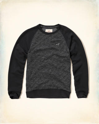 Colorblock Fleece Sweatshirt