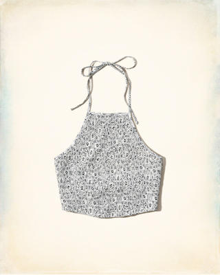 Smocked Halter Top