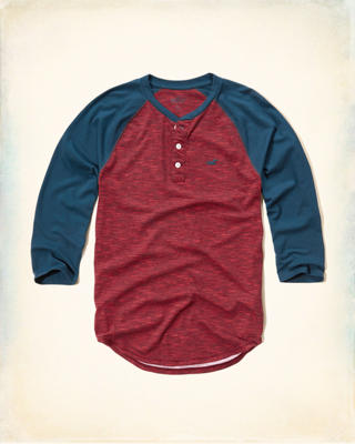 Three-Quarter Sleeve Henley