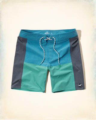 Colorblock Classic Fit Boardshort