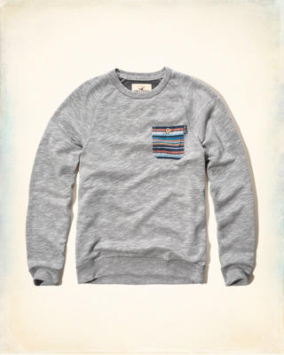 Fleece Crew Sweatshirt