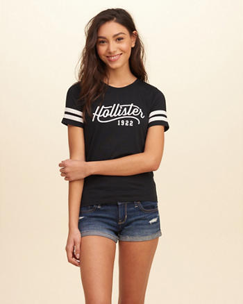 Athletic Logo Graphic Tee