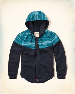 Mixed Colorblock Hoodie