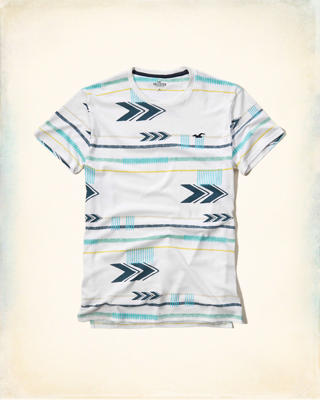 Patterned Jersey T-Shirt