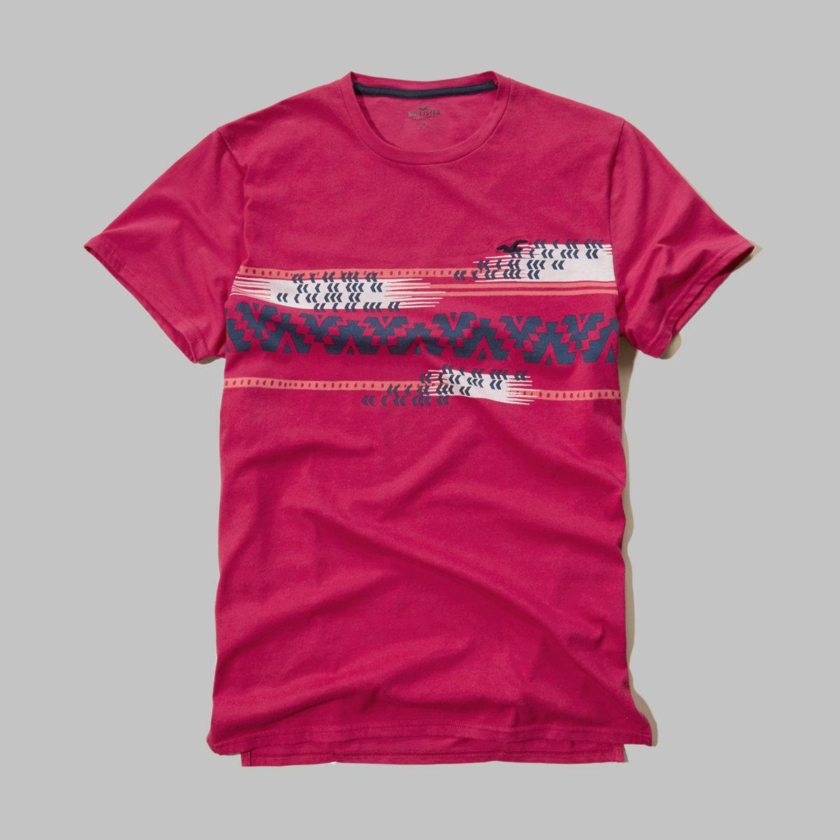 Patterned Jersey T-Shirt