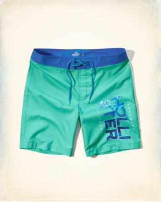 Logo Graphic Classic Fit Boardshort