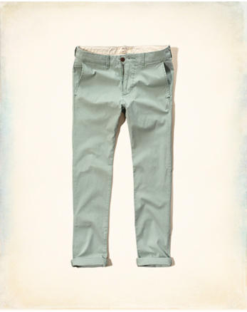 hol Hollister Skinny Zipper Fly Chinos