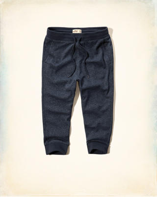 Hollister Cropped Jogger Pants