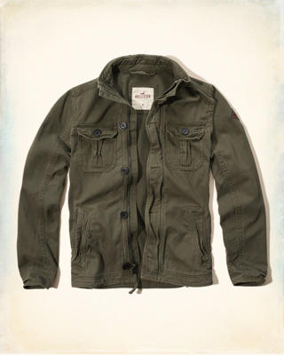 Rugged Twill Jacket