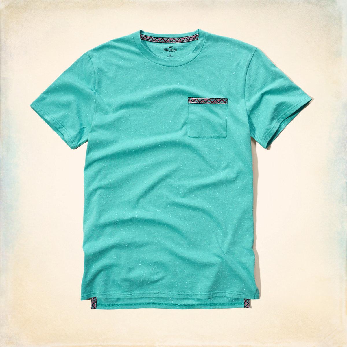 Textured Pocket T-Shirt