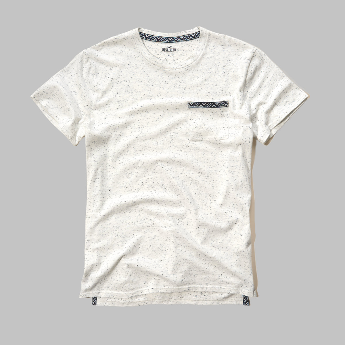 Textured Pocket T-Shirt