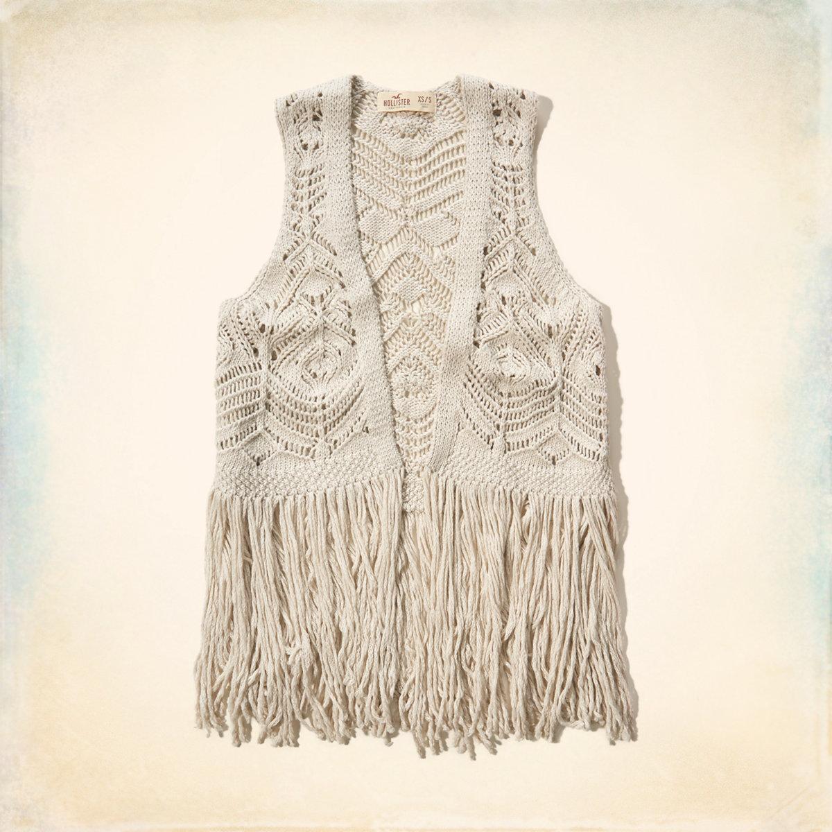 Easy Fringe Vest