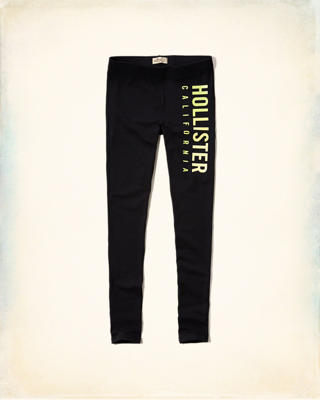 Hollister Logo Graphic Leggings