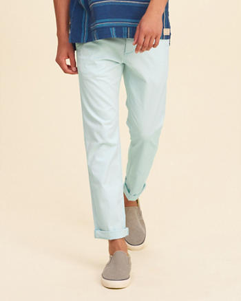 Hollister Skinny Ankle Zipper Fly Chinos