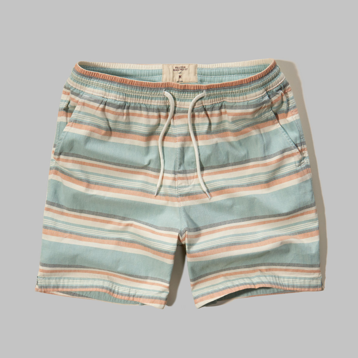 Hollister Beach Prep Fit Pull-On Shorts