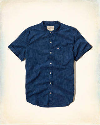 Space-Dyed Poplin Shirt