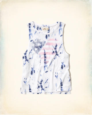 Americana Graphic Muscle Tank
