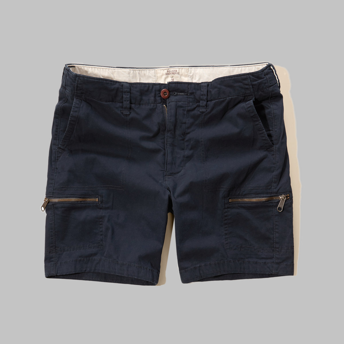 Hollister Beach Prep Fit Utility Shorts