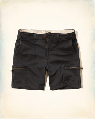 Hollister Beach Prep Fit Utility Shorts