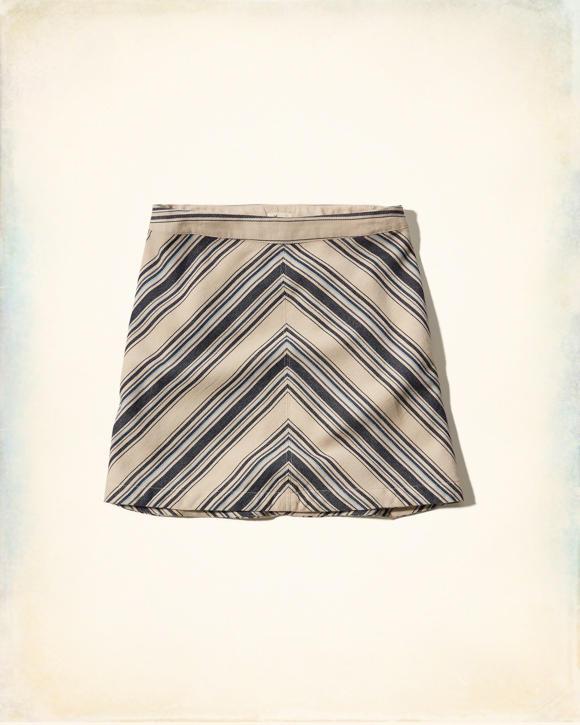 chevron a line skirt clearance hollisterco