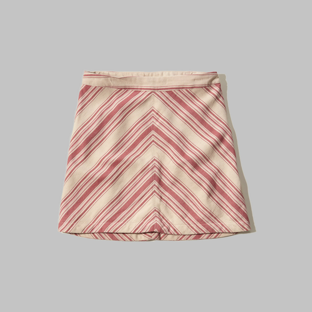 Chevron A-Line Skirt