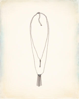 Fringe Layered Necklace