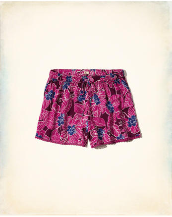 hol Edged Drapey Shorts