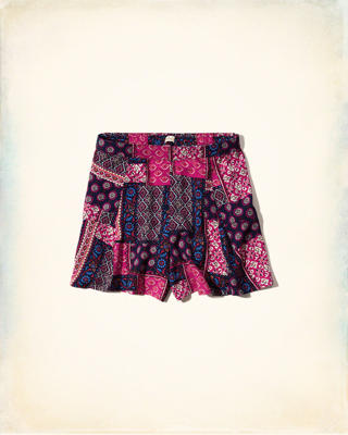 Printed Easy Shorts