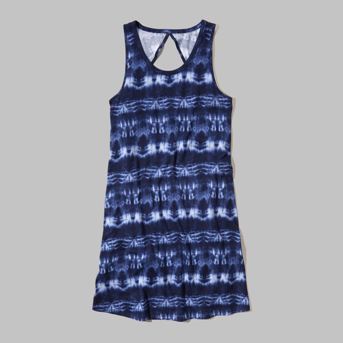 Cutout Tank Dress