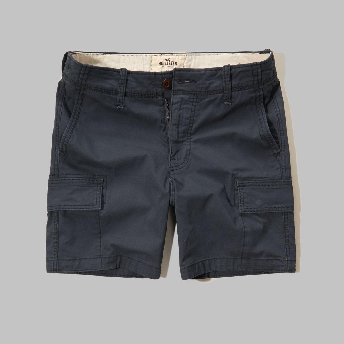 Hollister Beach Prep Fit Cargo Shorts