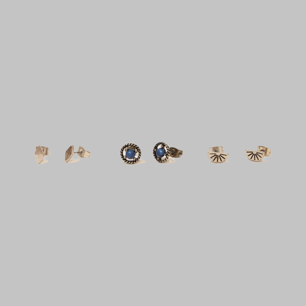 Stud Earrings Set