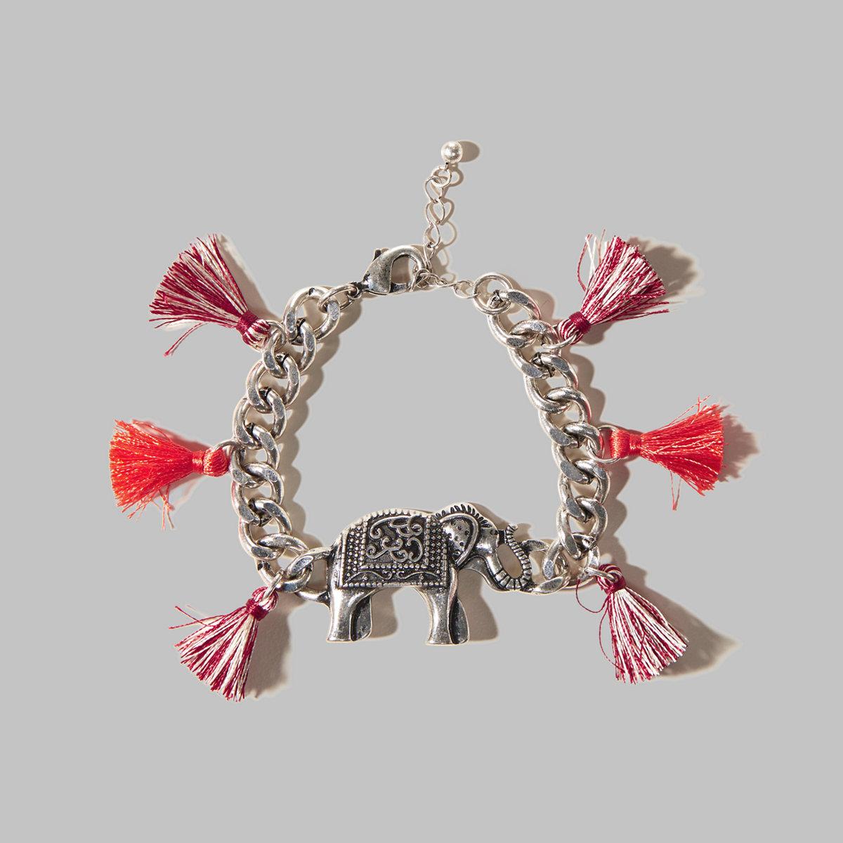 Elephant Tassel Bracelet