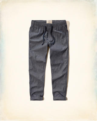 Hollister Skinny Pull-On Ankle Chinos