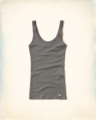 Must-Have Slim Scoop Tank